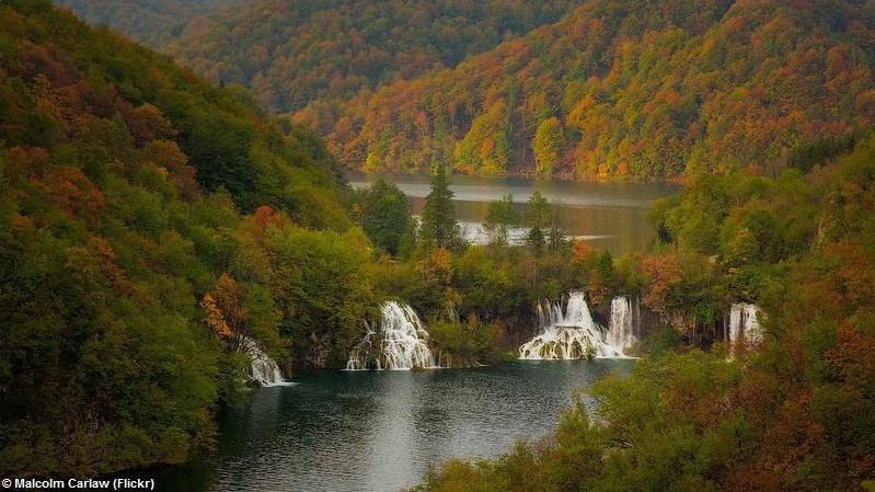 Parc de Plitvice en octobre