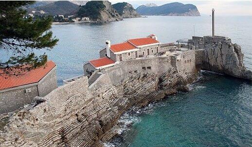 Petrovac forteresse vénitienne du Castello
