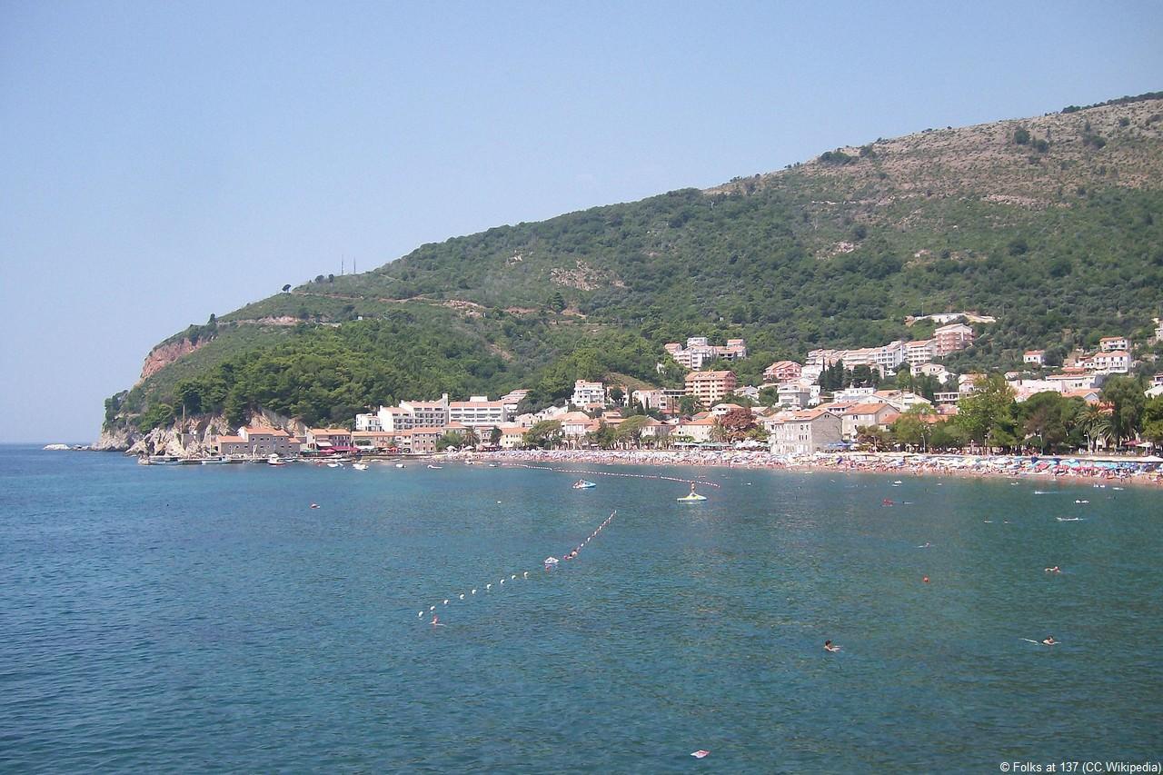 Petrovac na moru au Montenegro