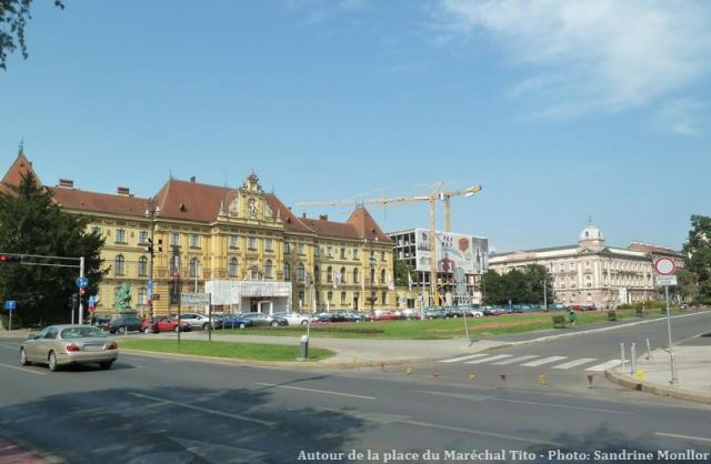 Zagreb Autour de la place du maréchal Tito