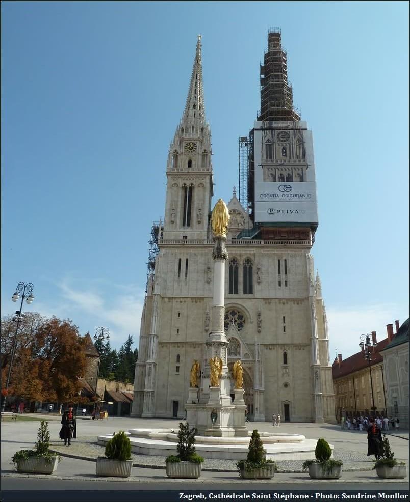 Zagreb Cathédrale Saint Stéphane