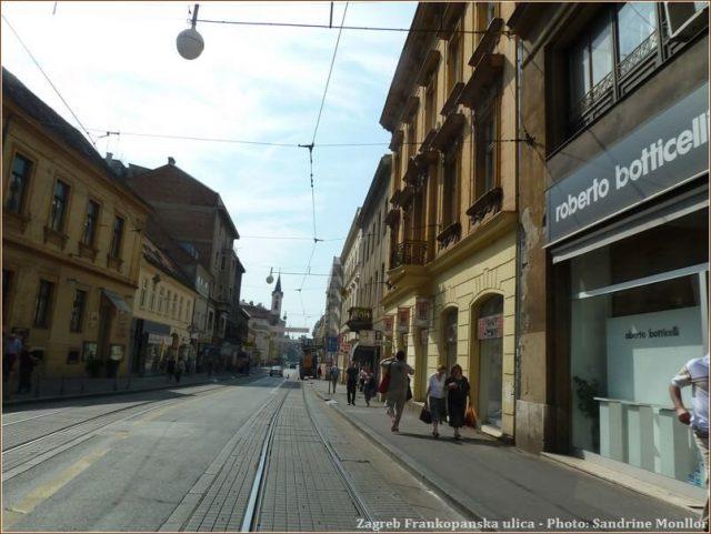 Zagreb Frankopanska ulica