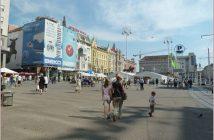 Zagreb place Ban Josip Jelacic