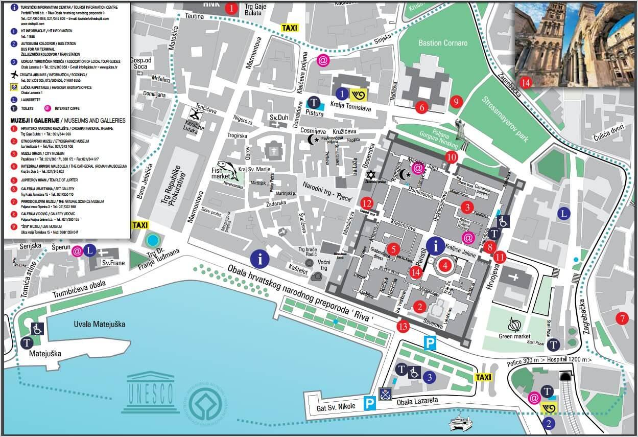 Plan de Split map