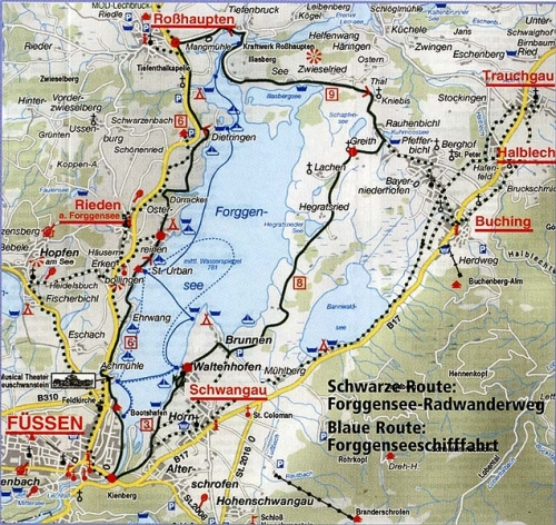 plan forggensee