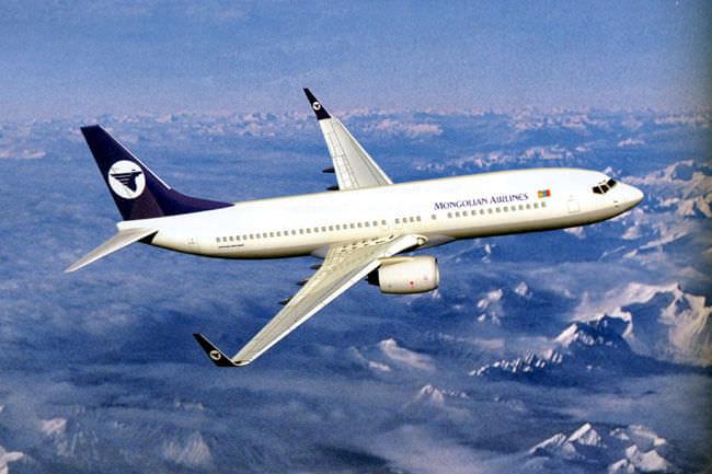 Avion vers oulan Bator Mongolian Airlines