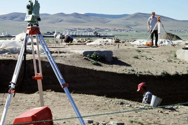 Mongolie Karakorum fouilles