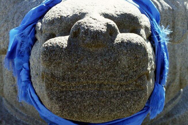 Mongolie Karakorum tête de tortue tete