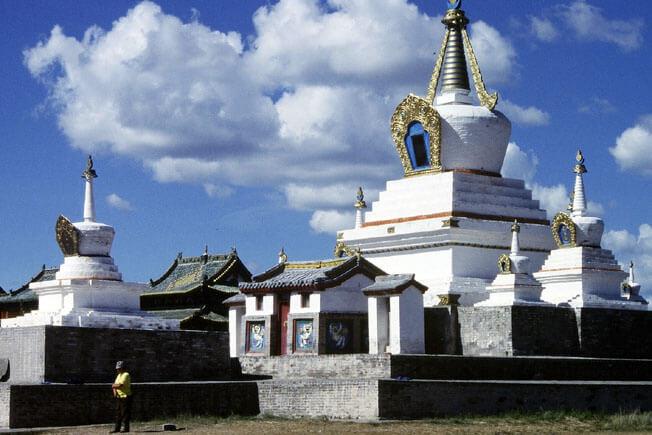 Mongolie erdeni zuu stupa