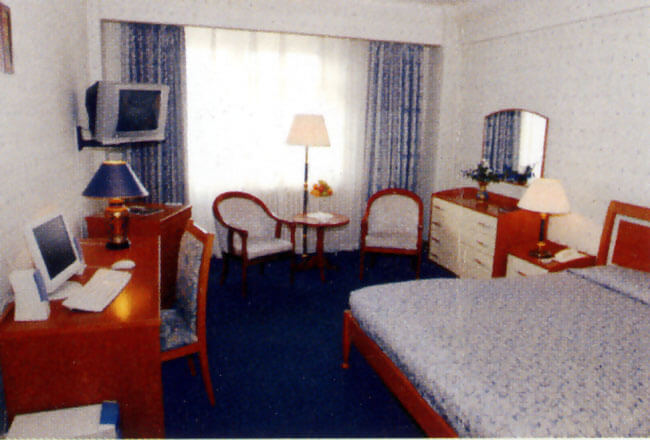 Oulan Bator chambre hôtel Bayangol