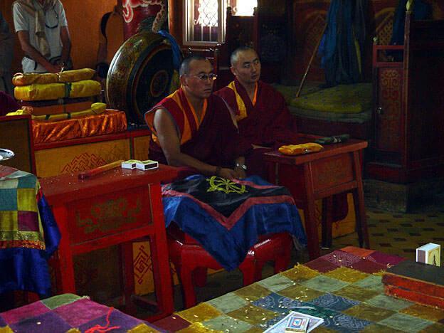 Oulan Bator monastere de Gandan lamas