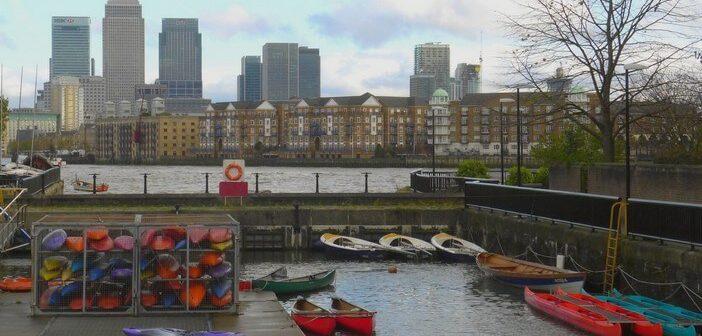 Randonnée à Londres: urban trek sur la Tamise