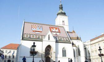 Zagreb église saint marc