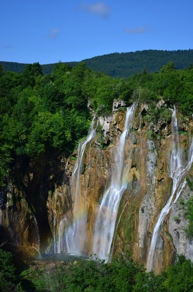 Veliki slap grande chute de Plitvice