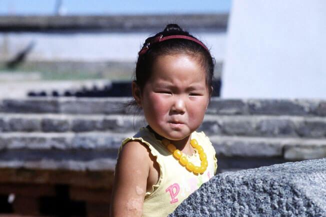 erdeni zuu fillette mongole