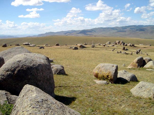 mongolie pique nique dans les steppes