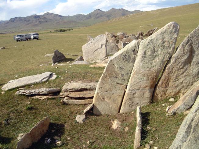 mongolie steles
