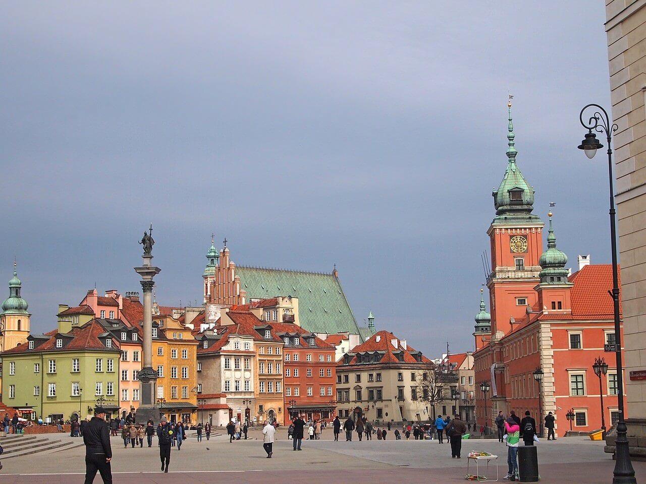 warsawa staro mesto centre historique de Varsovie