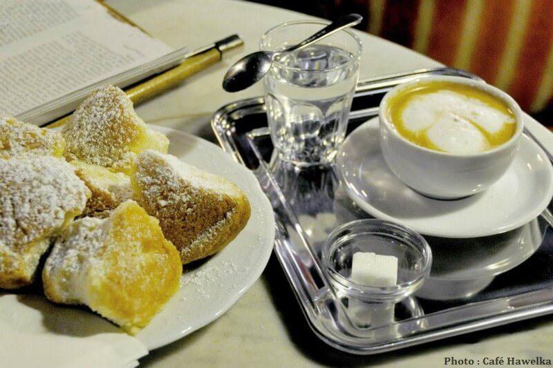 Buchteln café viennois café Hawelka Vienne