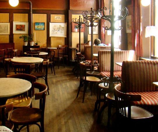 Café Hawelka Vienne