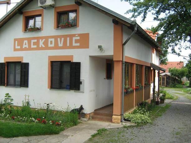 Ferme de la famille Lackovic à Bilje