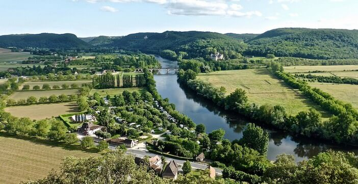 Longer la Dordogne