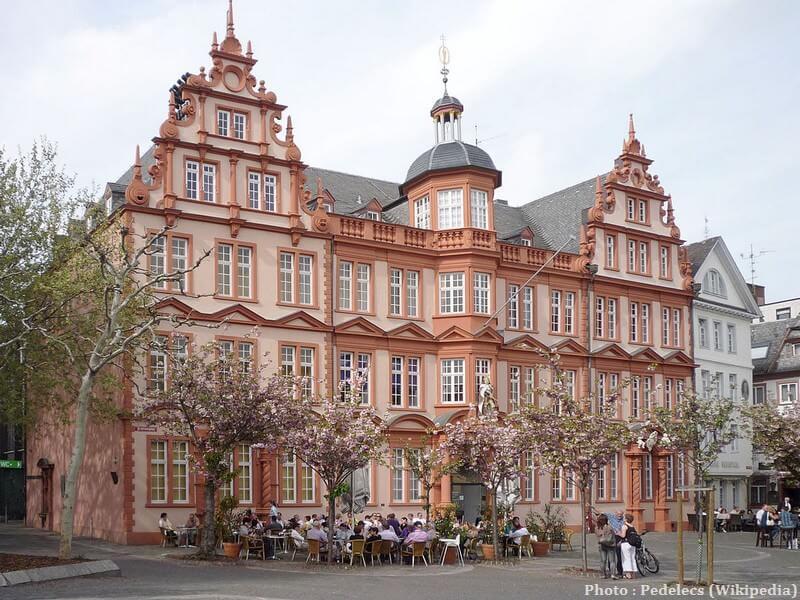 Mayence Musée Gutenberg sur Liebfrauenplatz