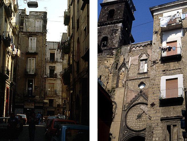 Naples san Pietro et ruelles