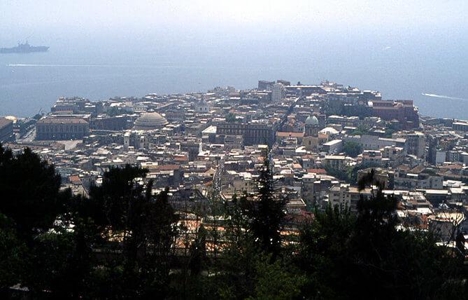 Panorama baie de Naples