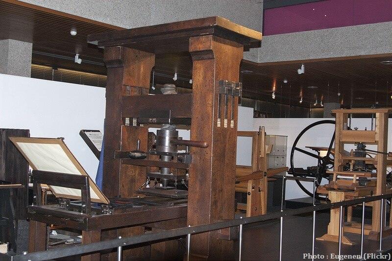 Presses de Gutenberg Musée mondial de l'imprimerie Gutenberg à Mayence