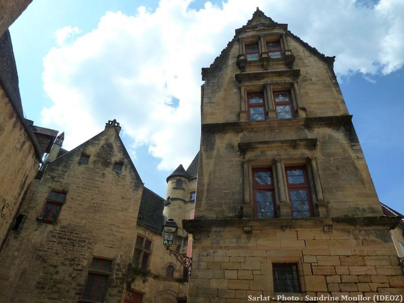 Sarlat Maisons du centre historique