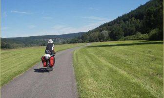Sur les routes allemandes à vélo cyclotourisme en Allemagne