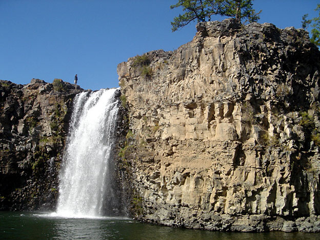 mongolie cascade