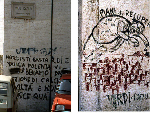 naples graffittis