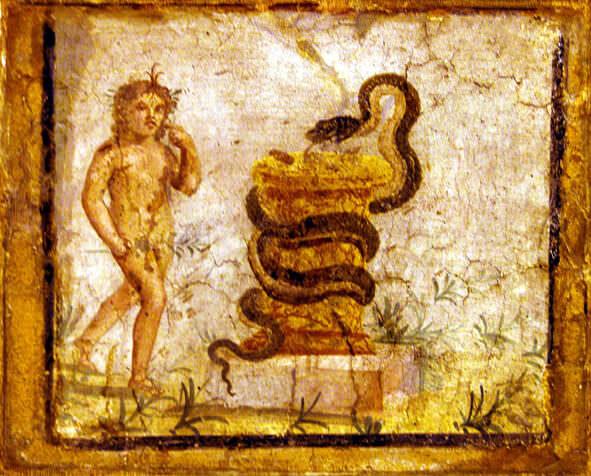 naples musée archeologique dionysos