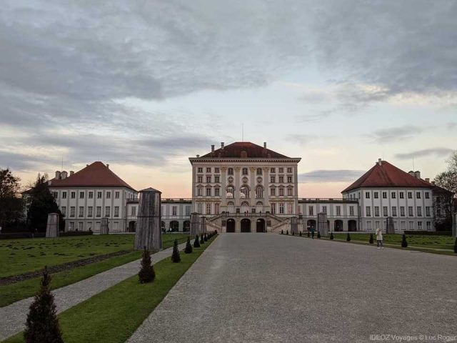 palais de nymphenburg en novembre