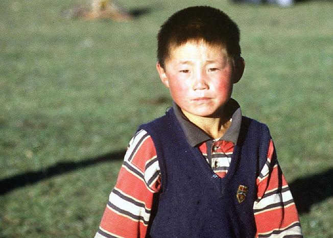 petit garcon mongol