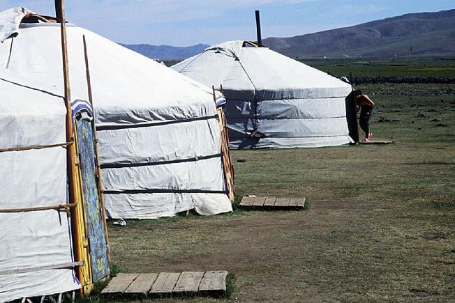 yourtes de togo mongolie