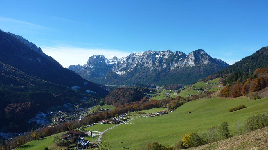 Berchtesgadenerland région de Berchtesgaden