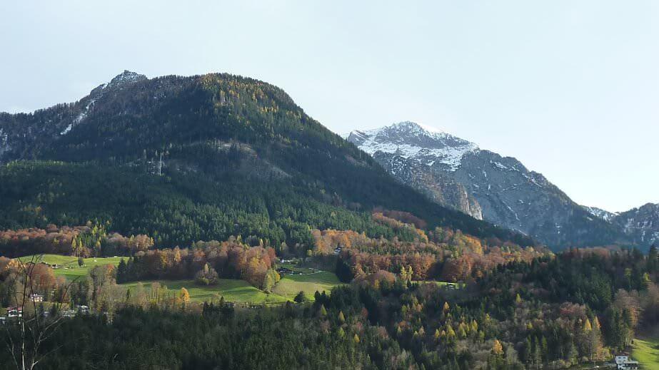 Environnement autour de Berchtesgaden en Haute Bavière