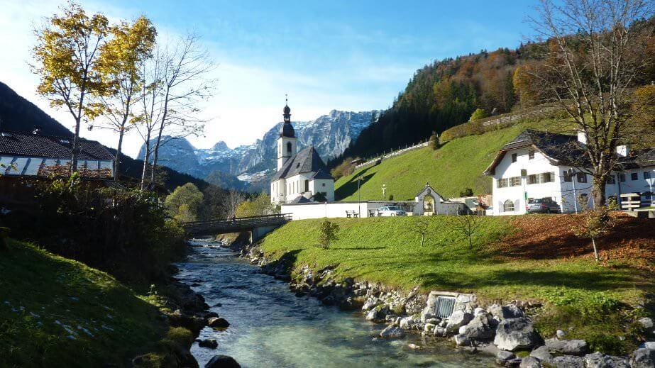 Ramsau église du Berchtesgadenerland