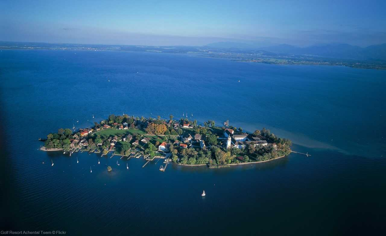 ile fraueninsel sur le lac chiem