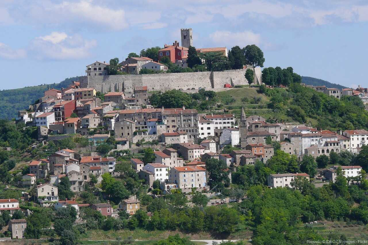 motovun village médiéval d'istrie verte