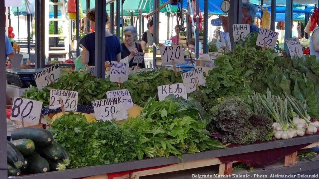 Belgrade marché Kalenic
