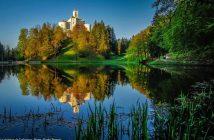 Chateau Trakoscan en Croatie centrale