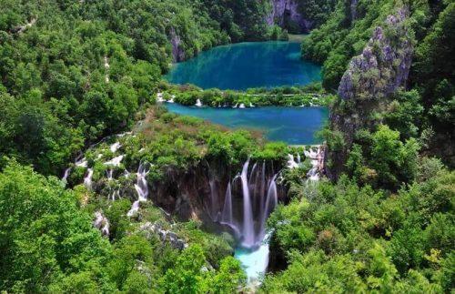 Lacs de plitvice et chutes en croatie