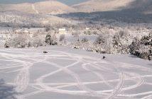 Lika senj vallée de Korenica en hiver