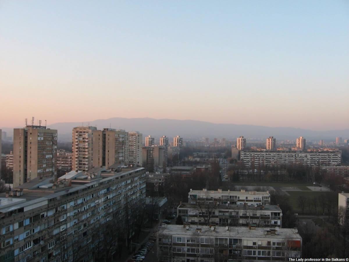 Novi Zagreb immeubles de la période communiste