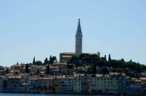 Panorama de Rovinj en Istrie