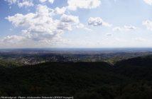 Panorama sur le comitat de Zagreb depuis Medvedgrad